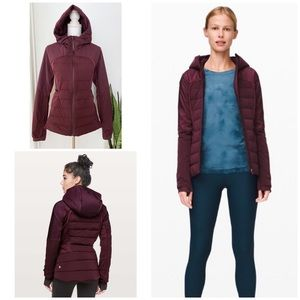 EUC Lululemon Down For It All Hooded Puffer Jacket